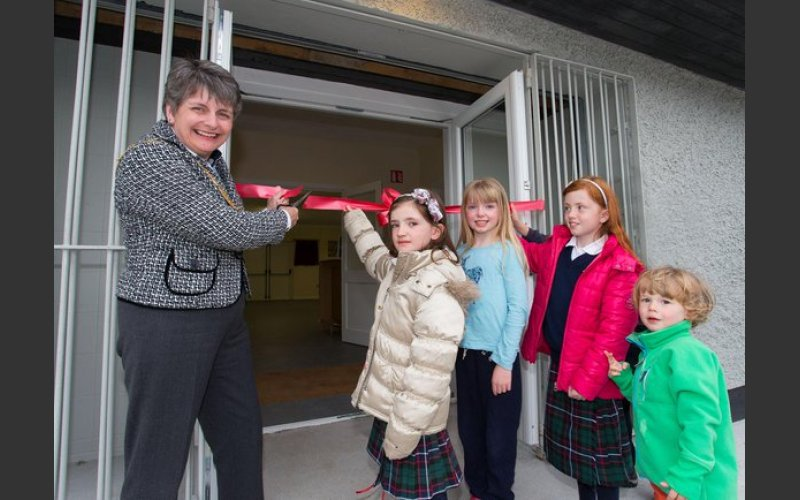 The opening of Patrician Community Centre