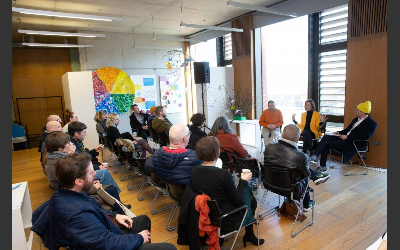 Exhibiting artists Paul Hallahan and Lee Welch in conversation with Rachael Gilbourne