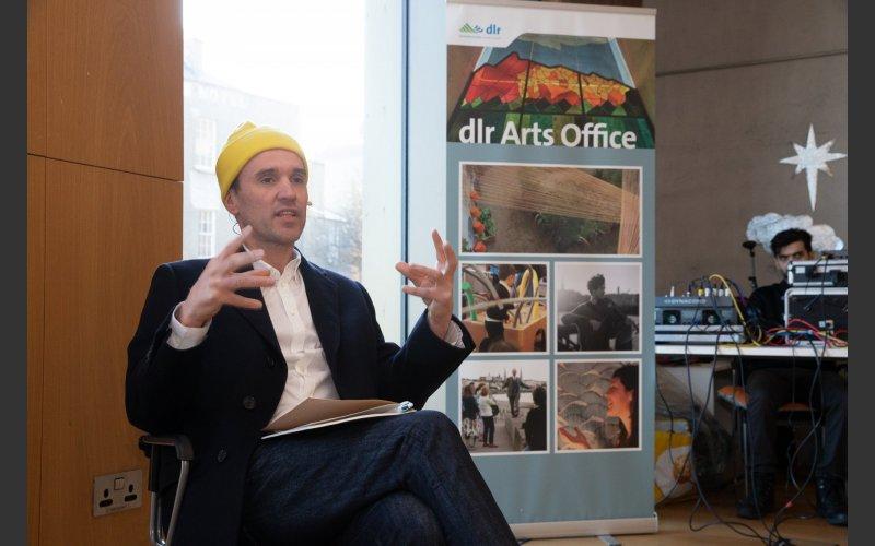 Exhibiting artist Lee Welch