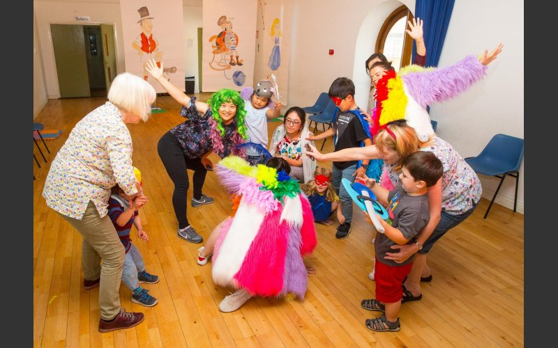 Creative dance workshop for children and their grandparents