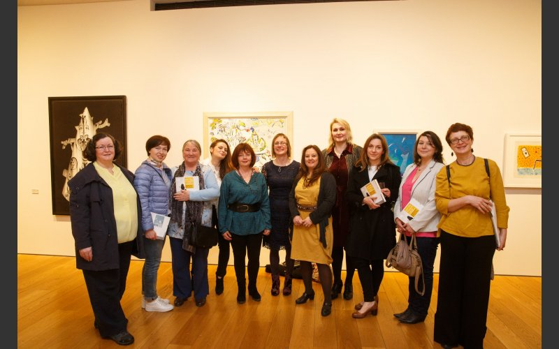 the group of women selectors at the exhibition opening