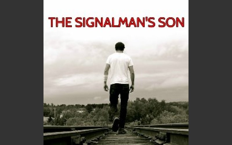 Poster for the play The Signalman's Son by Umbrella Theatre Company