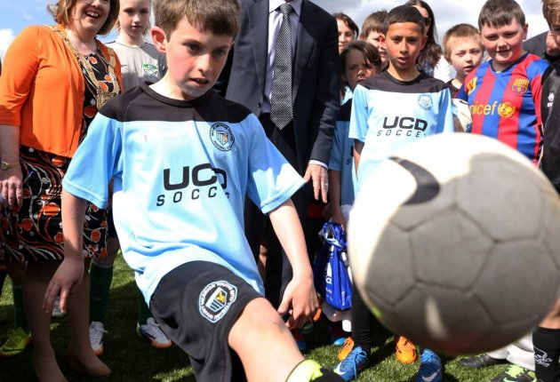 Marlay Park All Weather Pitch Opening