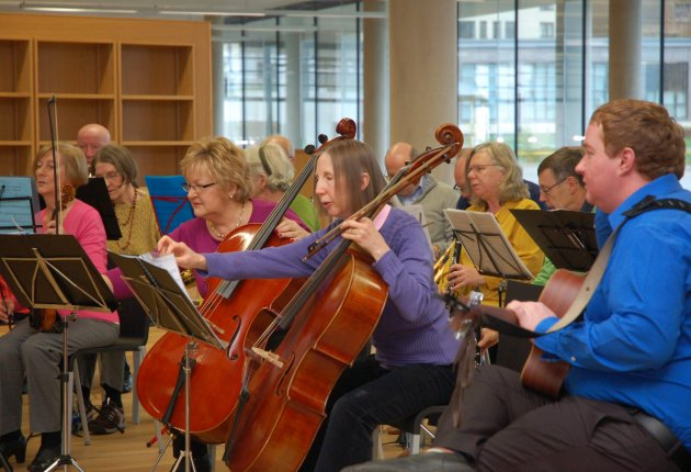 Image of Newpark Concert Orchestra in dlr LexIcon