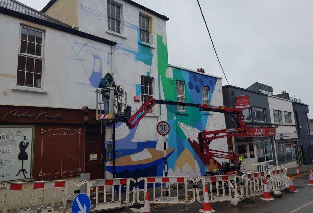Decoy work in progress Dun Laoghaire Anseo