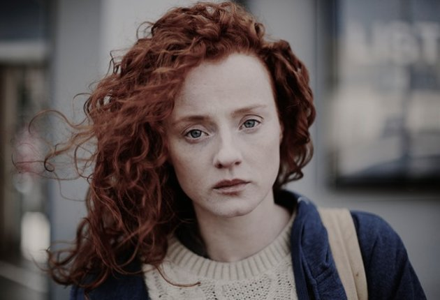 photograph of the lead actress from the short film Rachel Comign Home