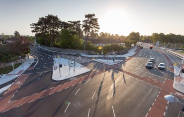 Leopardstown Link Road & Roundabout Configuration1