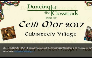 Ceili at Cross Road