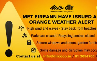 Orange Weather warning