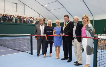Opening of Indoor Hall at Shankill Tennis Club