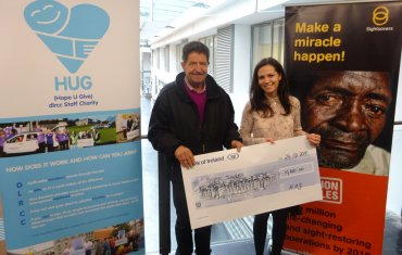 dlr HUG Charity helps to restore sight to 300 people through Sightsavers