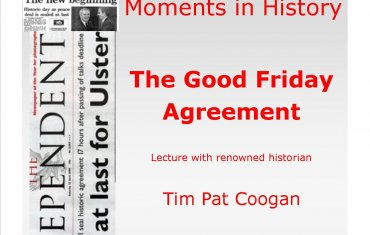 Good Friday Agreement Tim Pat Coogan