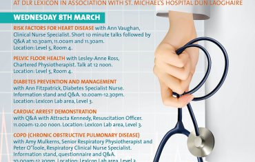 Health awareness talks at dlr LexIcon