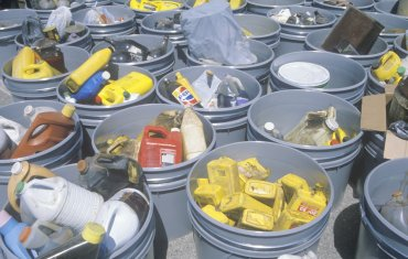 Picture of Household Hazardous Waste Items