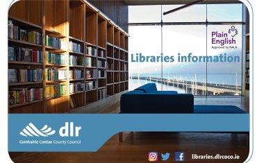 Libraries information leaflet cover