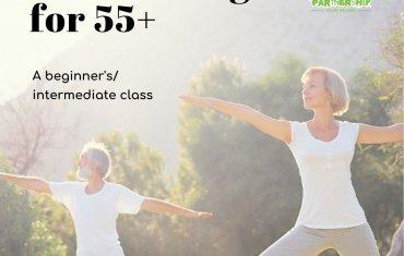 Over 55s Outdoor Yoga