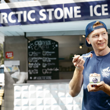 Caolan Cullen Arctic Stone Ice Cream